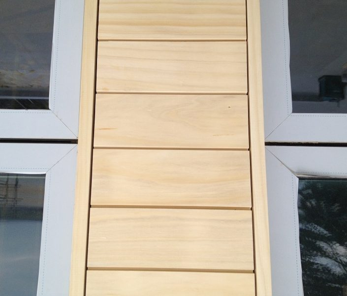 Window Wood Cladding