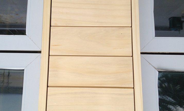 Window Wood Cladding
