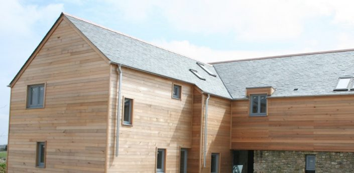 Westclad Completed Wooden Cladding