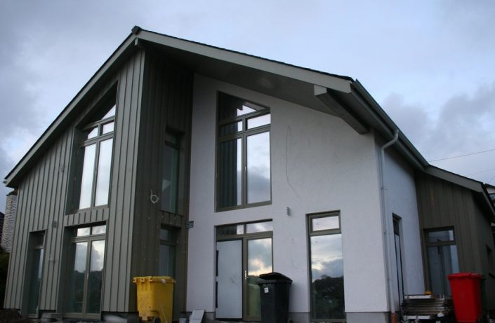 Exterior uPVC cladding