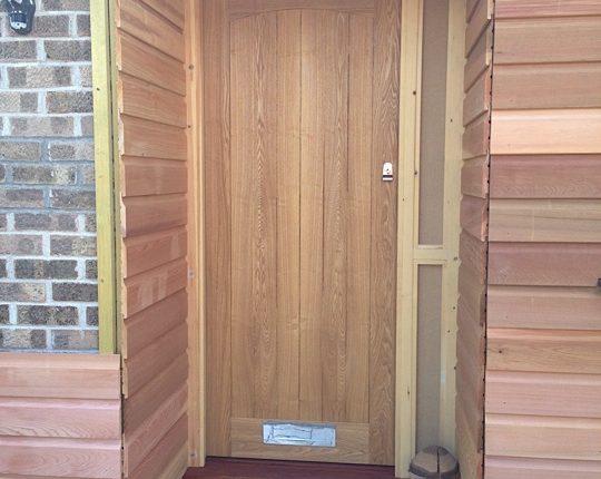 Exterior Cladding Front Door Westclad