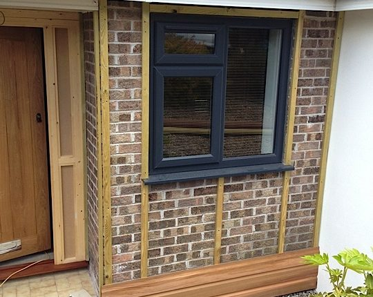 Working Wood Cladding Project