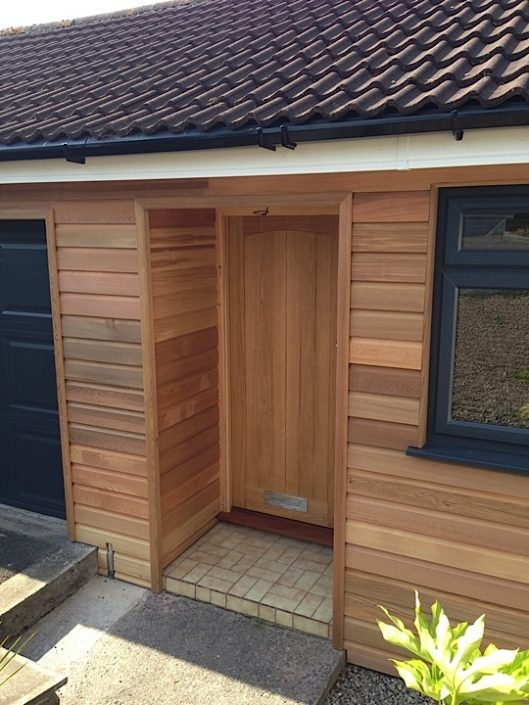 Wooden Cladding Project