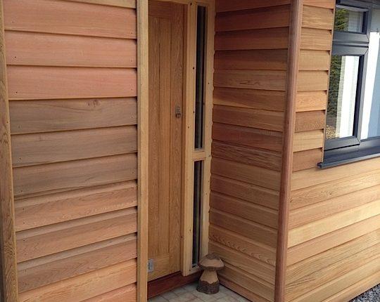 Westclad Wood Cladded House