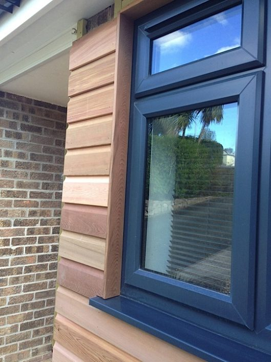 Completed Window Wood Cladding
